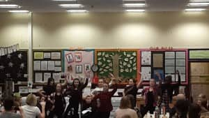 Our talented Highland Dancers showing off their skills